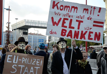 Anonymous - Occupy Vienna