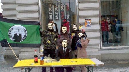 Demo gegen INDECT